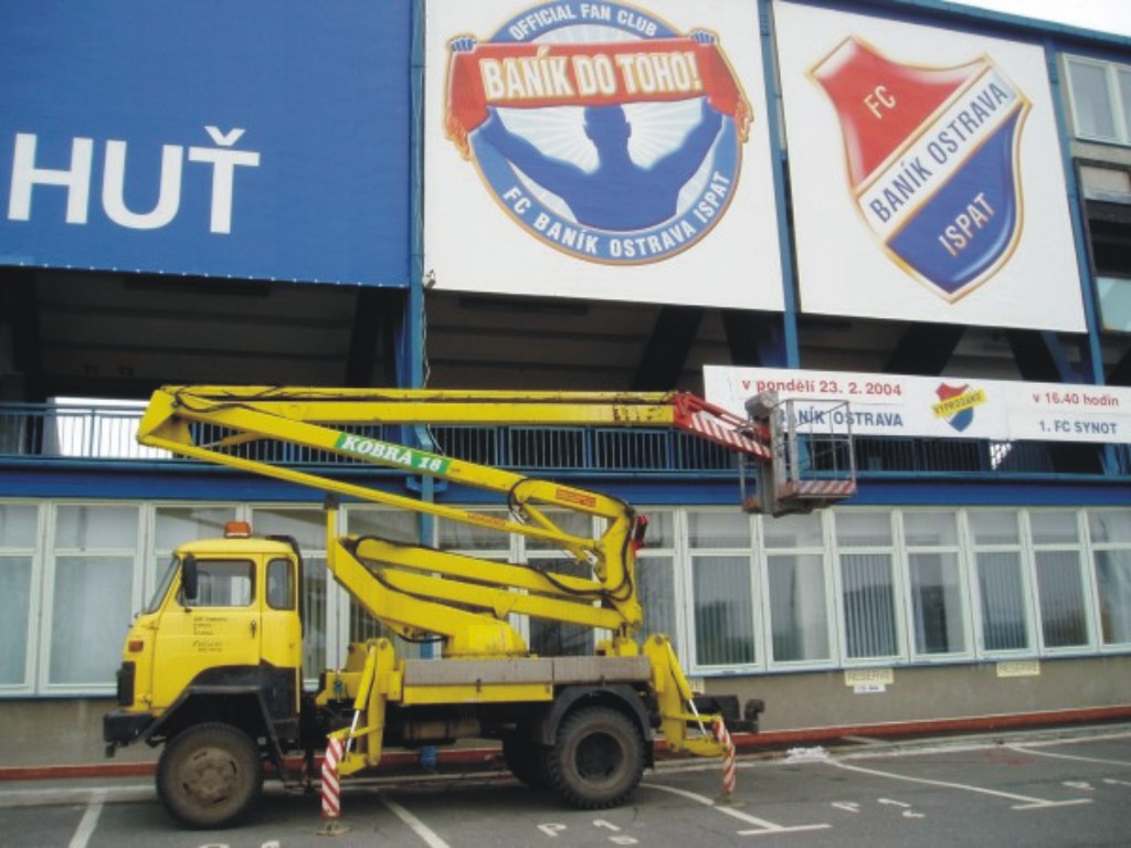 Vysokozdvižná plošina Ostrava - pronájem s obsluhou
