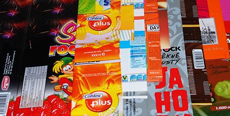 Fólie na potraviny Kladno – nepropustné propagační obaly s potiskem