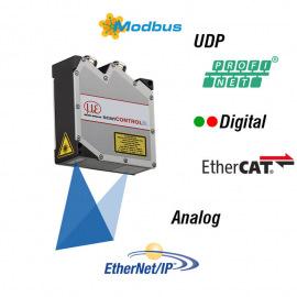 2D/3D laserové kamery, pro přesné měření profilů
