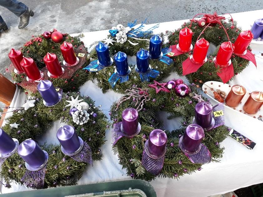 Věnce - adventní, vánoční na dušičky