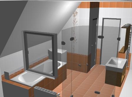 Grafické návrhy, vizualizace koupelen ve 3D   Nymburk