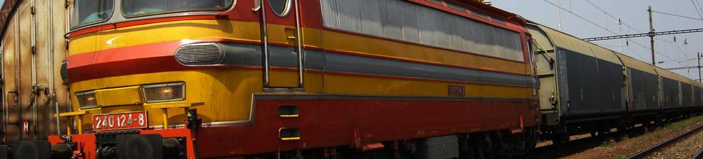 Železniční přeprava sypkého materiálu