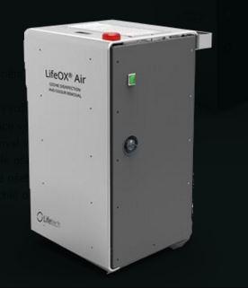 Desinfekce průmyslových hal ozonem Praha – LifeOX AIR INDUSTRIAL