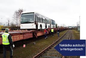 Železniční přeprava nadměrných zásilek Praha