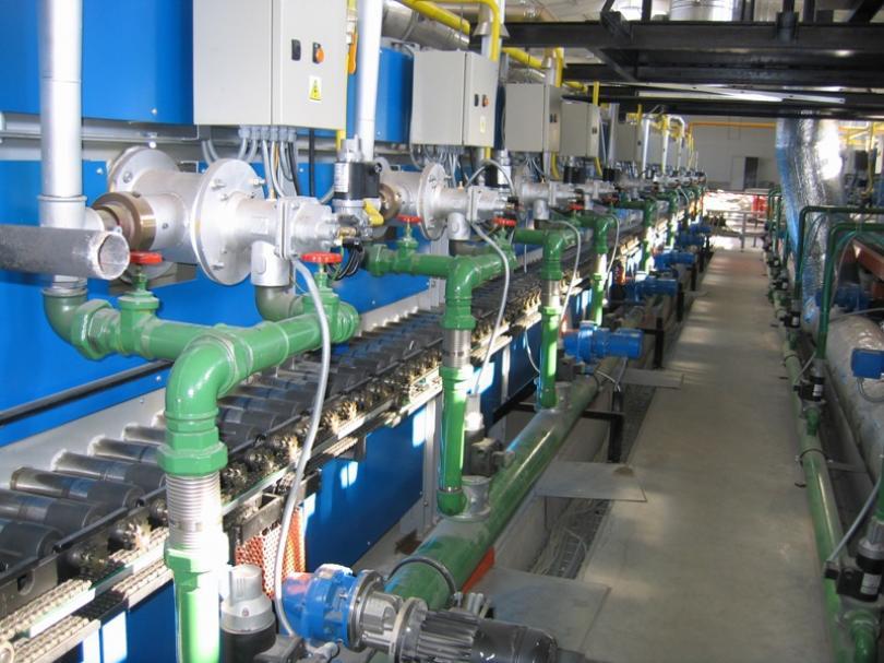 Regulace technických plynů