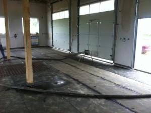 Betonová podlaha, příprava k realizaci