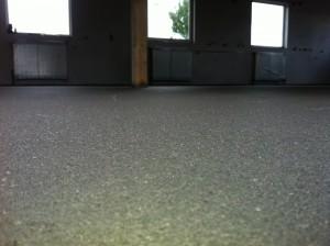 Průmyslová betonová podlaha zhotovena firmou MS BETON s.r.o.