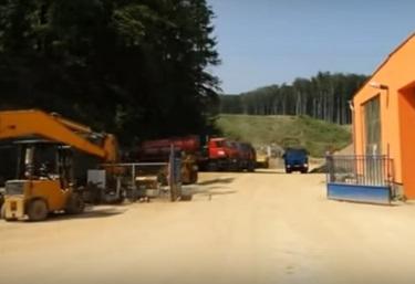Skládka pro uložení, skládkování stavebních odpadů, suti