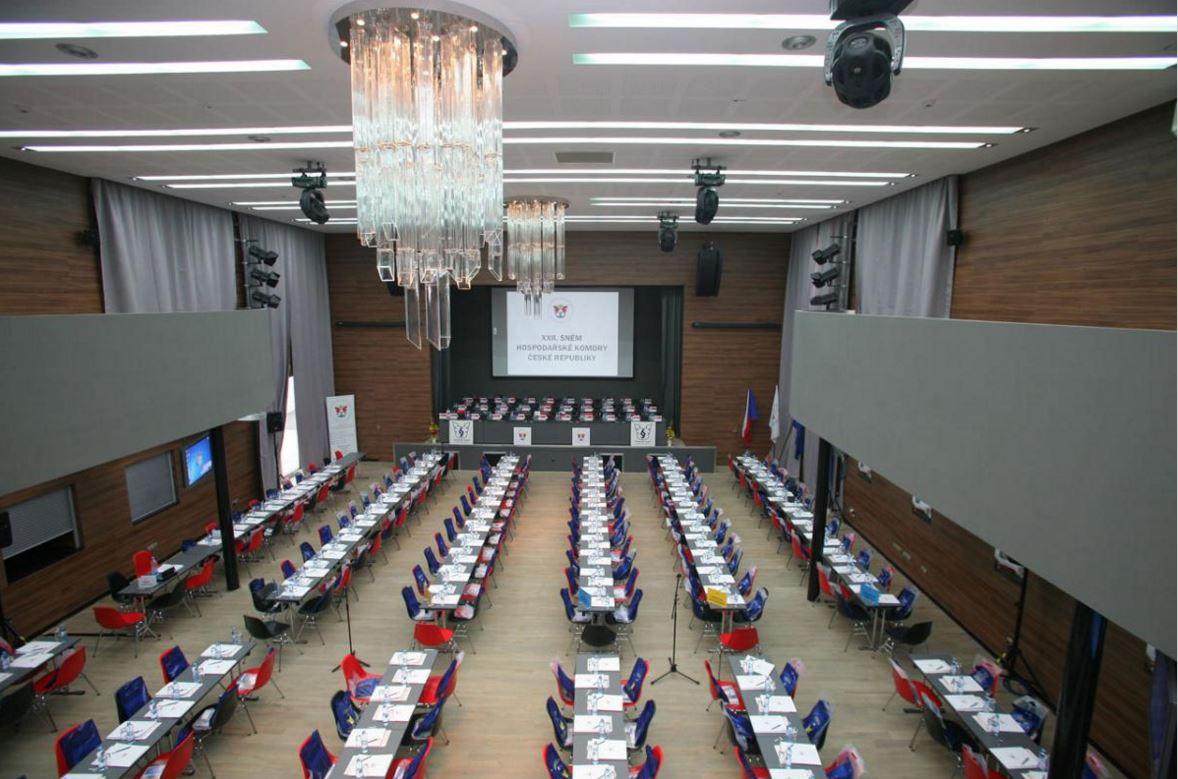 Pronájem sálů Chrudim – prostory pro kongresy a konference