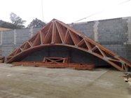 příhradové vazníky, konstrukce střech Brno