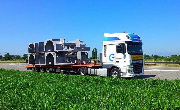 Nadrozměrná doprava investičních a technologických celků bez komplikací