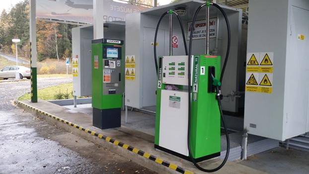 Provoz bezobslužné čerpací stanice Znojmo