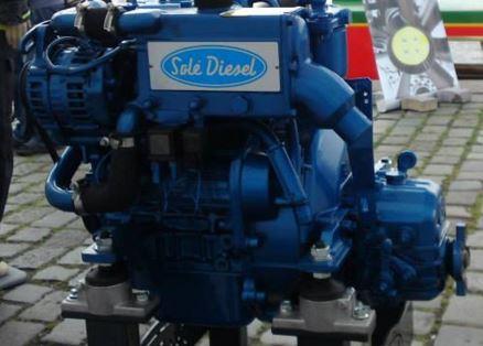 Solé Diesel lodní motor
