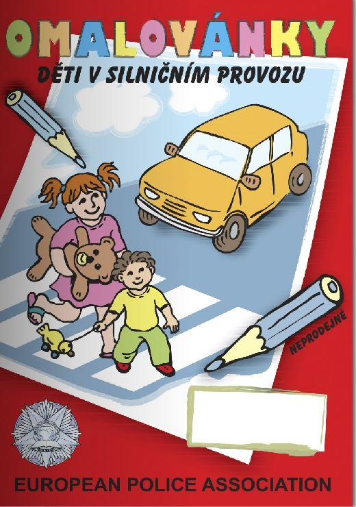 Omalovánky pro děti Praha – dopravní