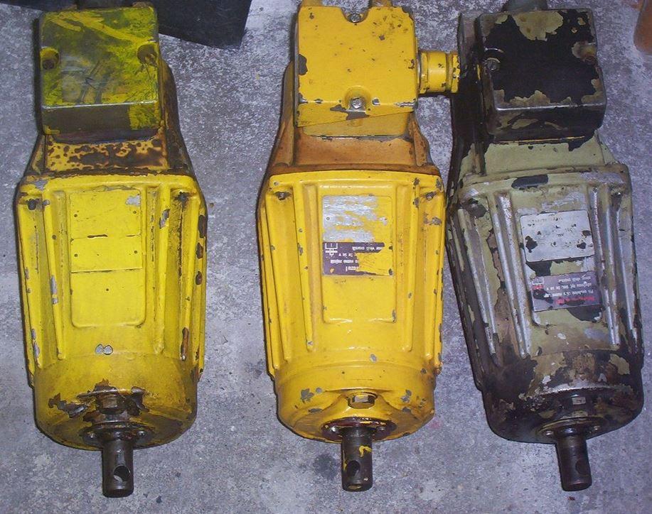Servis elektromotorů Děčín –  asynchronní i stejnosměrné motory