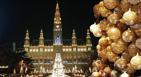 Adventní balíček, ubytování v hotelu na 2+1 noci s výletem do předvánoční Vídně