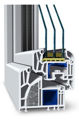 Profil ALPHALINE, plastová okna Dačice