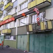 Rekonstrukce balkonů panelových domů, paneláků | Náchod