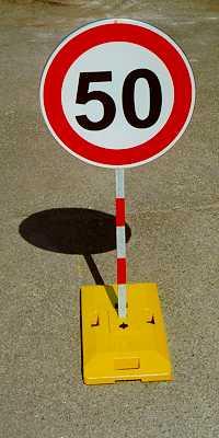 Dopravní zařízení pro provizorní značení - instalace, pronájem