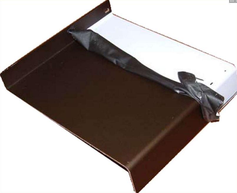 Venkovní parapety Kladno – hliníkové tažené profily
