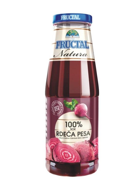 Ovocný džusy Fructal bez cukru ze Slovinska - velkoobchod Zlín