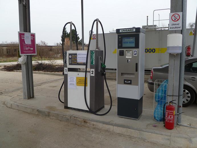 dohled nad technologií čerpacích stanic PHM, novinka