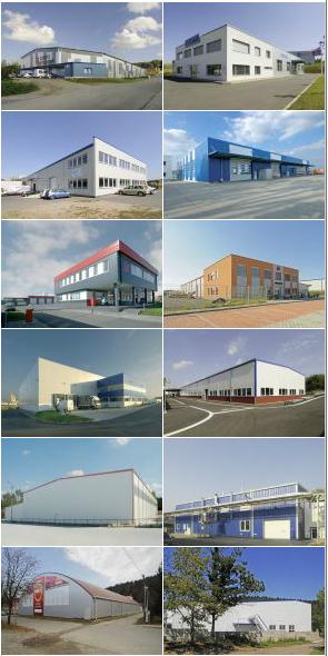 Průmyslové montované stavby vám vyrobíme na míru včetně povrchových úprav
