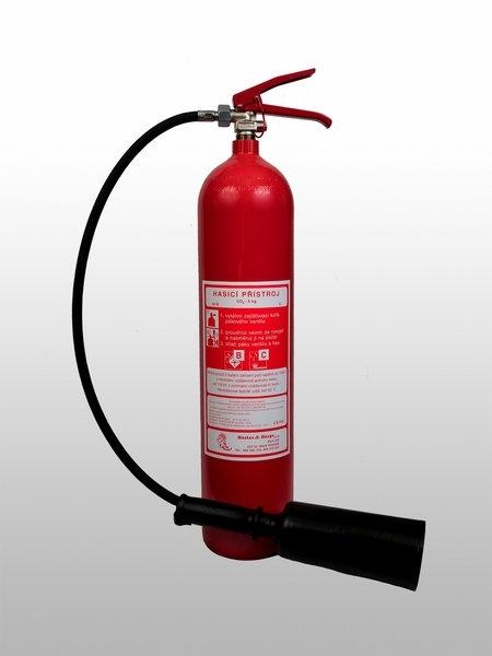 Přenosné hasicí přistroje