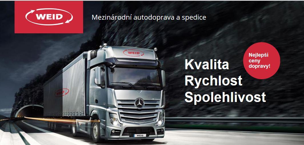Mezinárodní přeprava zásilek – silniční rozvoz zboží po Evropě