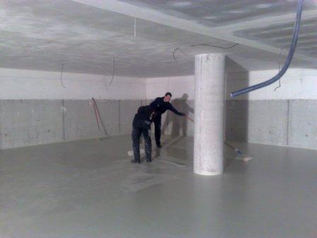 Velké využití krycí polyuretanové podlahy