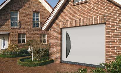 Montáž výklopných garážových vrat