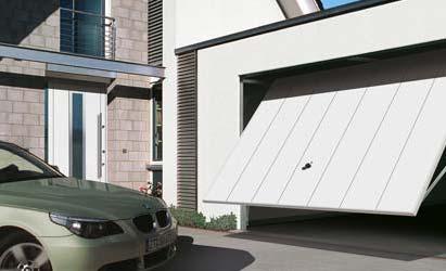 Výklopná garážová vrata Hörmann   Semily, montáž, prodej