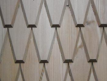 Gespaltene, geschnittene Schindel, Produktion von Schindeln, Dacice, Jemnice, die Tschechische Republik