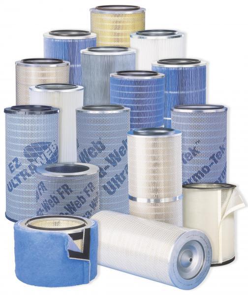 Průmyslová filtrace Donaldson, Mann, kapsové filtry-velkoobchod