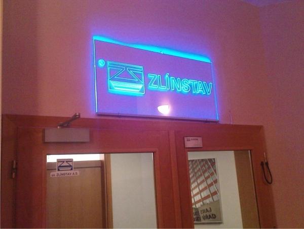 Světelná reklama Zlín