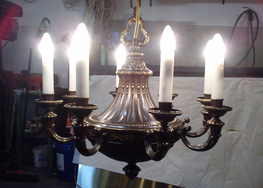 Pasířství Praha – výroba historických kovových svítidel a doplňků z barevných kovů a mosazi