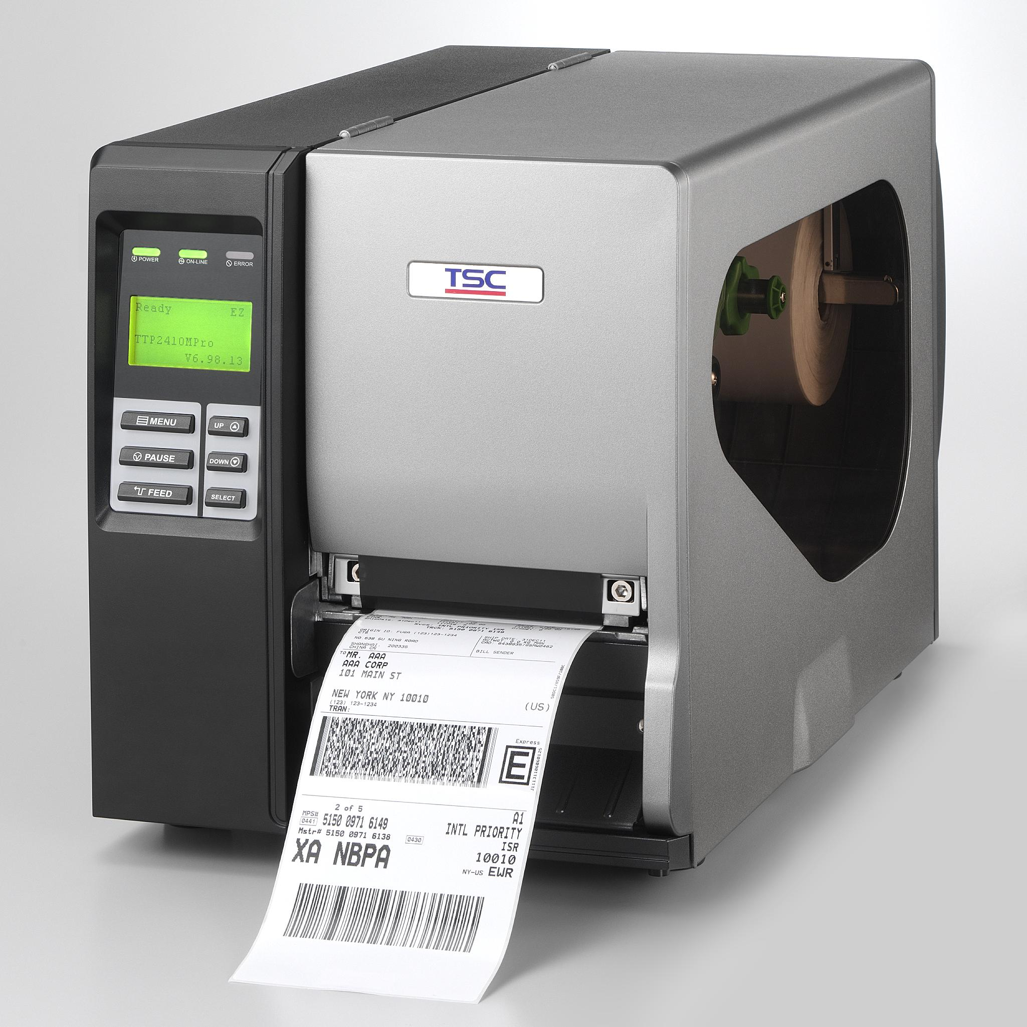 Průmyslová termotransferová tiskárna