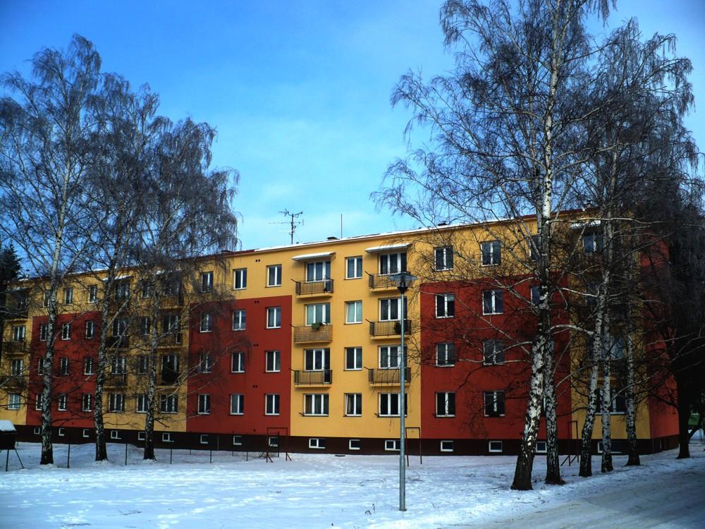 Regenerace bytového domu Bystřice pod Hostýnem