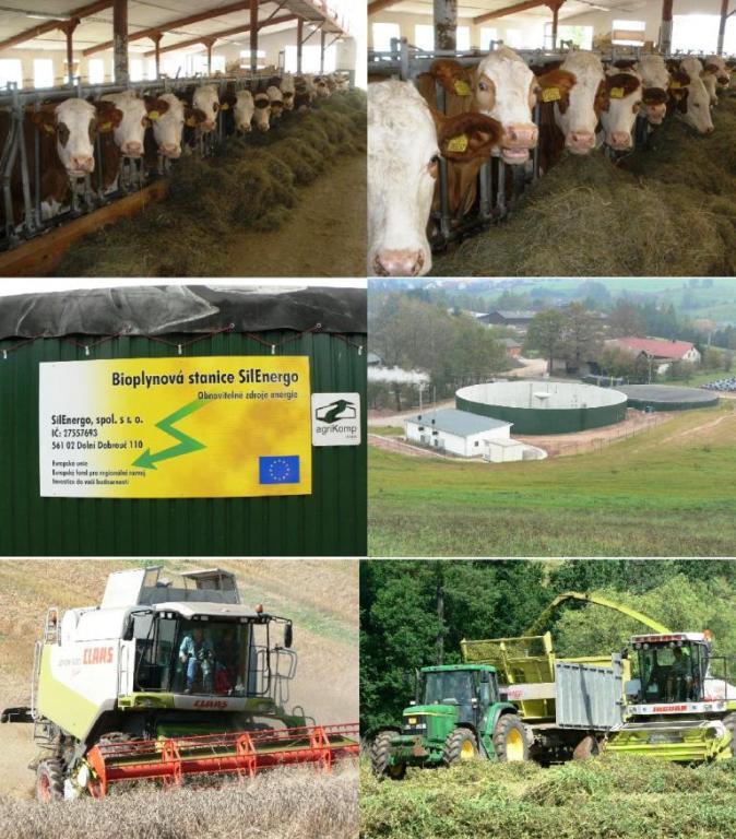 Zemědělská mechanizace a služby