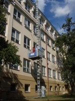 Půjčovna stavebních výtahů sloupových