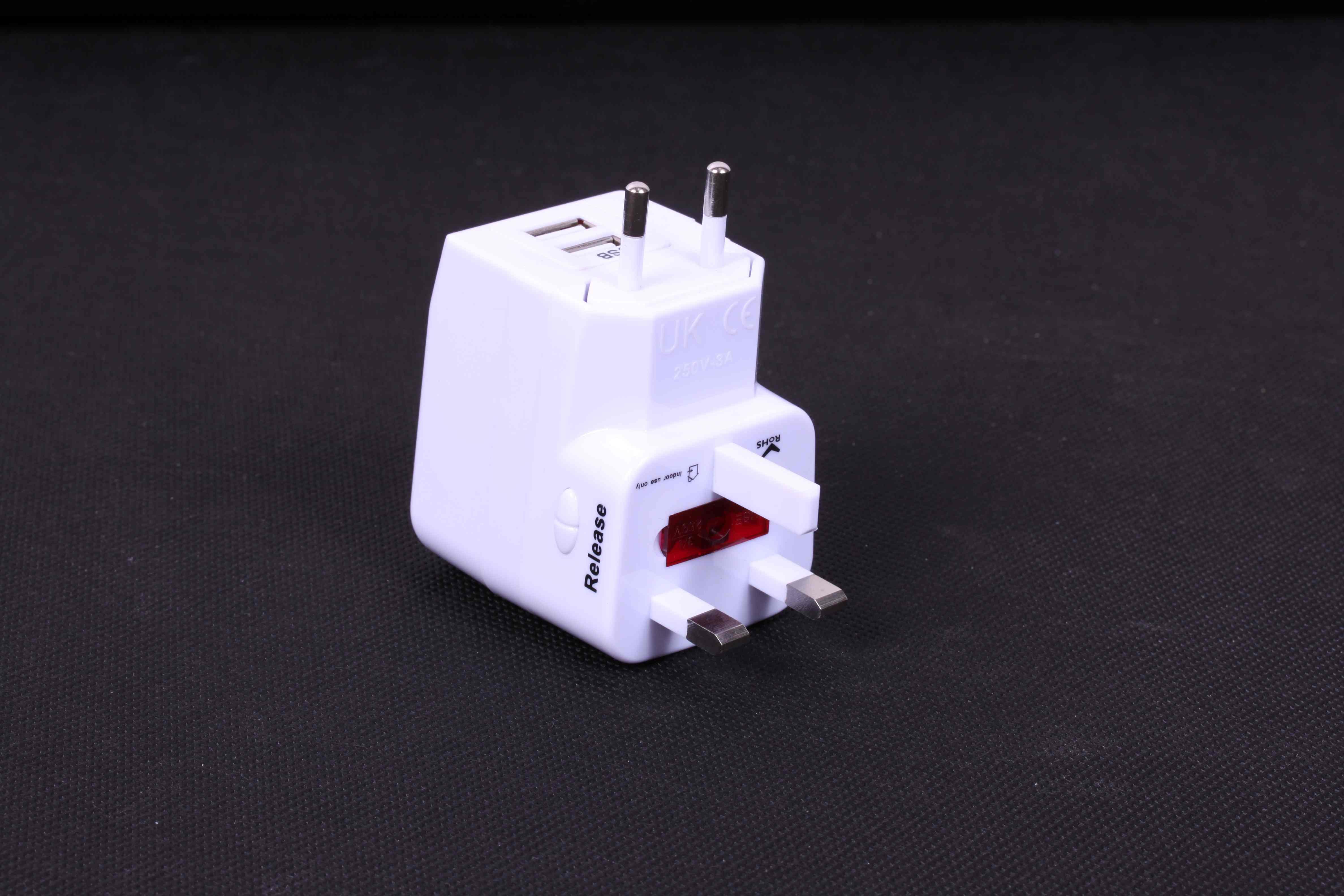 Adaptér ORAVA pro el.zásuvky, nabíječka mobilů, MP3 přes USB