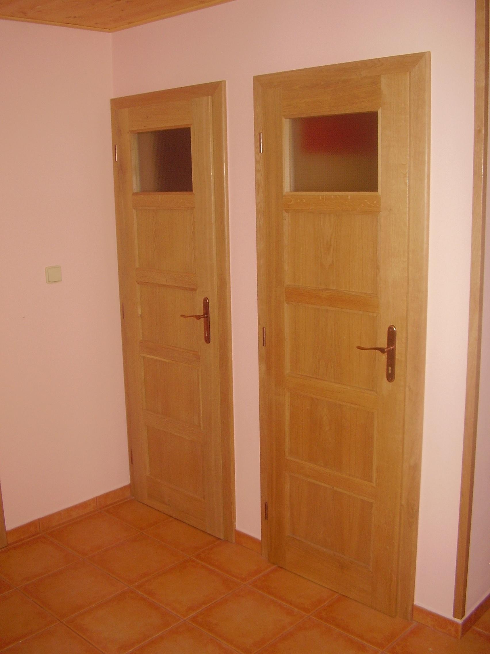 Dveře s obložkou
