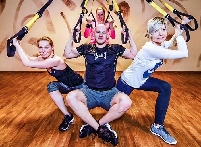 Professional exercise lessons Zlín-TRX, alpinning, spinning, powerplate, the Czech Republic