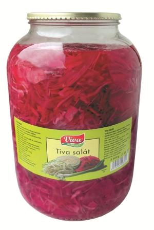 Tiva salát vyrábí a dodává PT Servis Konzervárna