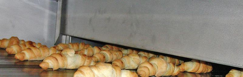Pekařské linky pro výrobu croissantů - výroba, servis