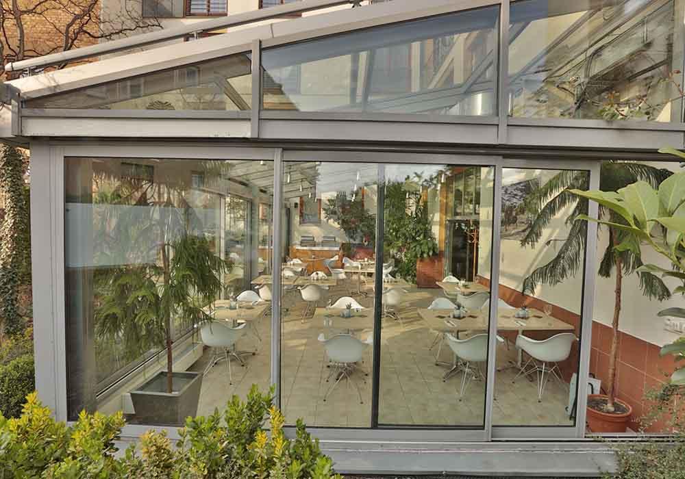 Zimní zahrada Hotel Troja