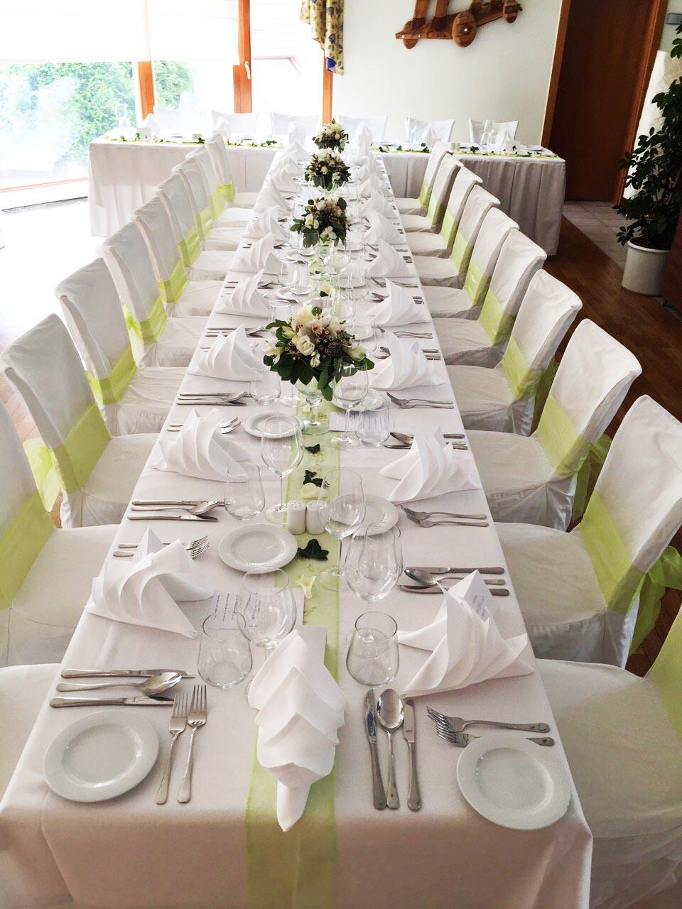 Svatební hostiny Hotel Troja