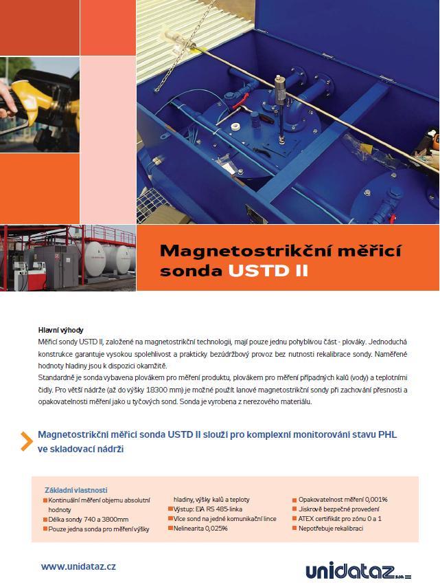 Systémy pro kontinuální měření stavu PHM ve skladovacích nádržích