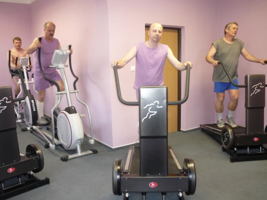 Aerobní cvičení HEAT na pásu Maxerrunner