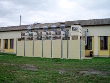 Protihlukové stěny Strážnice